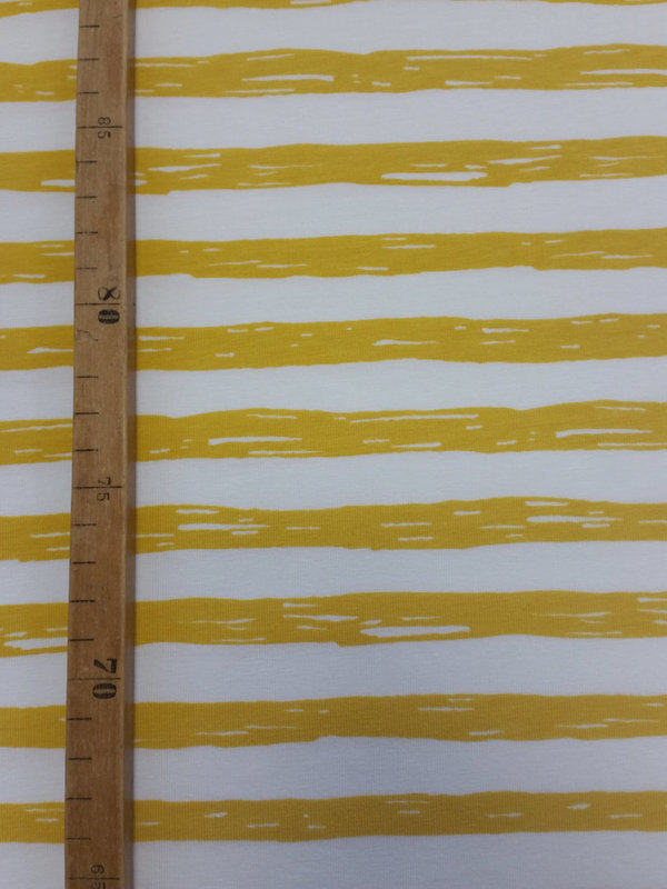 Jersey Painting Stripes Gelb